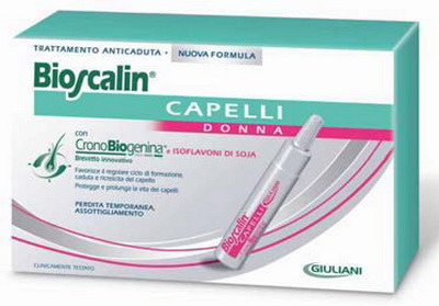 E  un trattamento scientificamente avanzato per contrastare la caduta  temporanea e l assottigliamento dei capelli  innovativa formula con Crono  Biogenina e ... de1235f50046