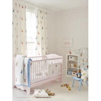 Bb the countrybaby blog ideas para decorar con papel - Papel pintado habitacion bebe ...