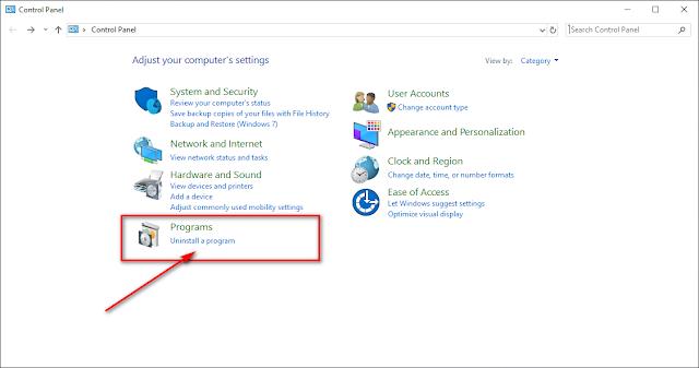 كيفية الغاء تثبيت التطبيقات والبرامج في ويندوز 10