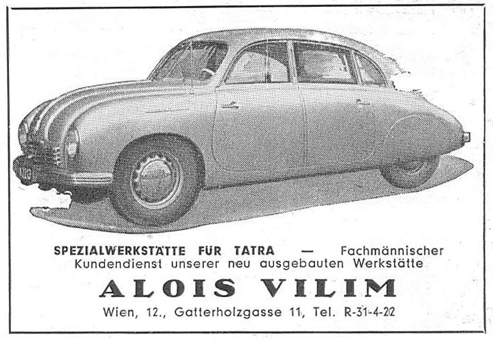 Szextant Blog: 187.) Tatra T-87 Tatraplan