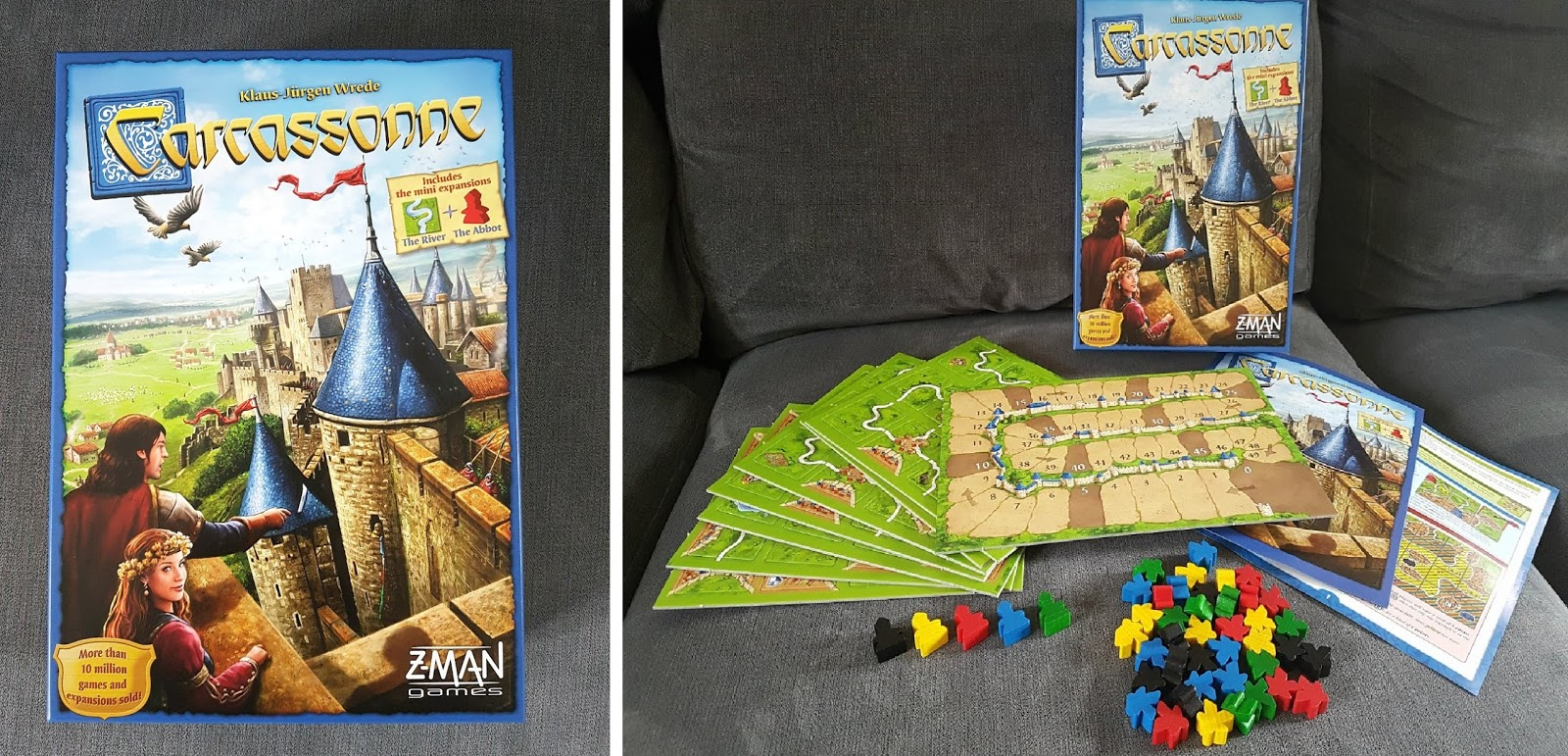 Carcassonne, family board game, Best board game