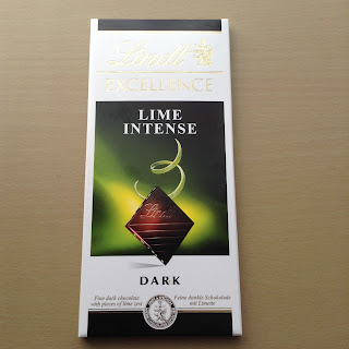 Lindt Excellence Lime Intense Dark