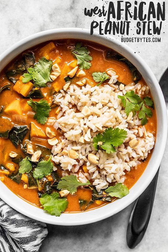 VEGAN WEST AFRICAN PEANUT STEW