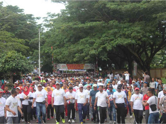 5,000 Peserta Meriahkan Millenial Road Safety Festival (MRSF) di Bula