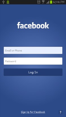 Create New Facebook Account on Mobile