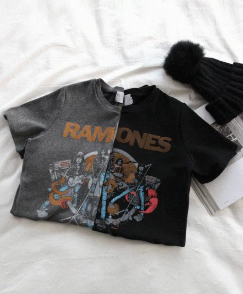 Band Print T-Shirt