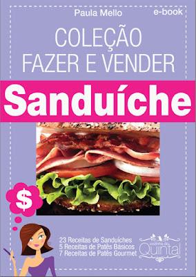 Ebook Sanduíche Cozinha do Quintal à venda no blog