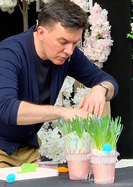Húsvéti díszített kaspó I Manzard9