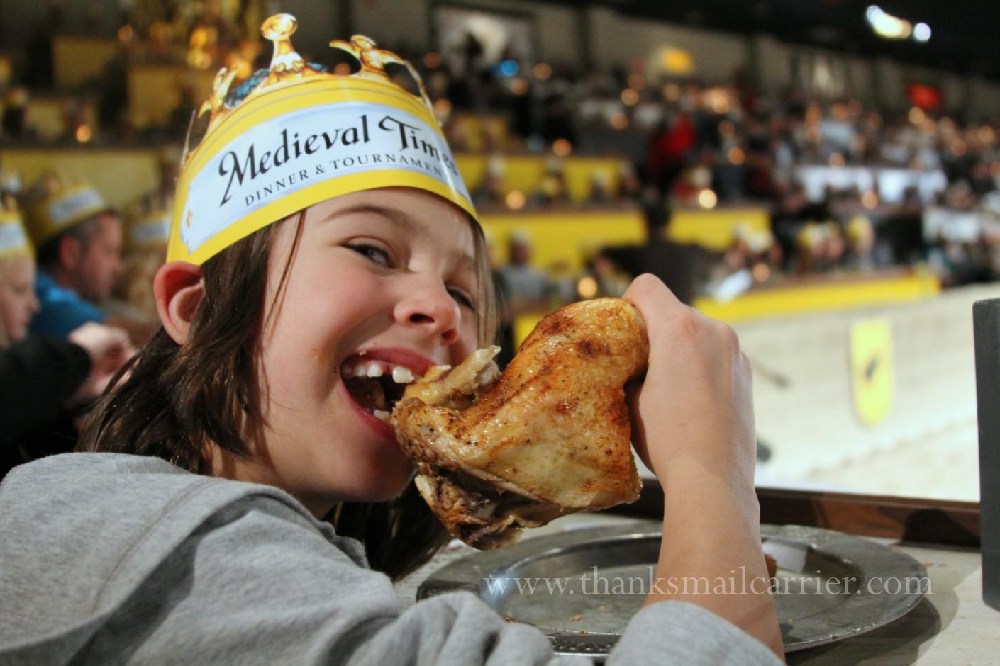 Medieval Times food