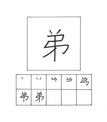 kanji adik laki-laki