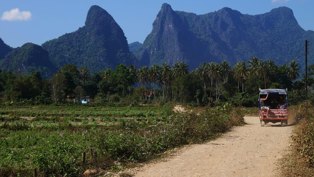 Đến Vang Vieng - Thiên đường du lịch của xứ sở triệu voi
