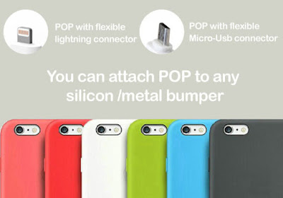 POP portable charger sticks