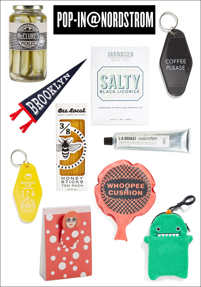 party favors, gift ideas under 30, pop in shop nordstrom, fall, budget gifts