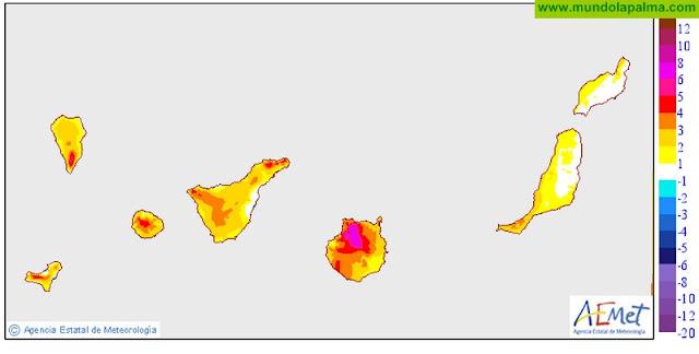 Calor, calima y posibles tormentas para los próximos días