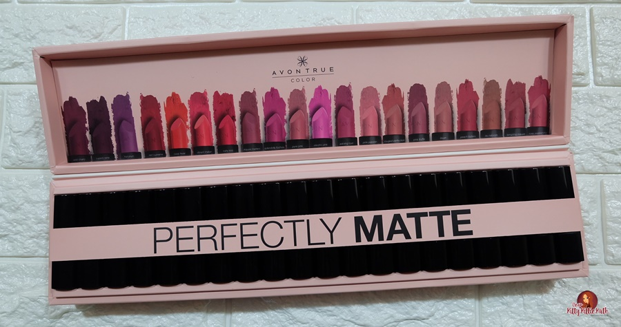 Product Review Avon True Color Perfectly Matte Lipstick Line Dear