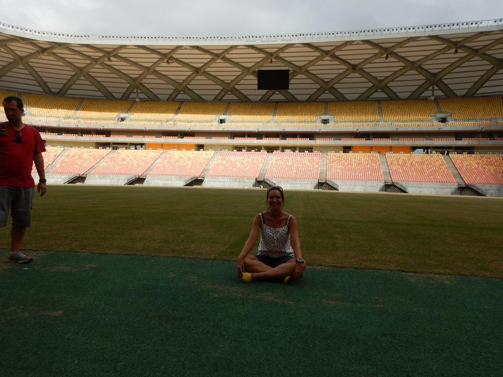 Visita guiada pela Arena da Amazônia