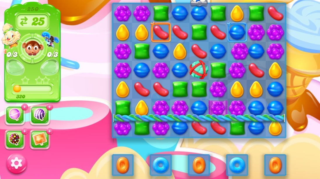 Candy Crush Jelly Saga 250
