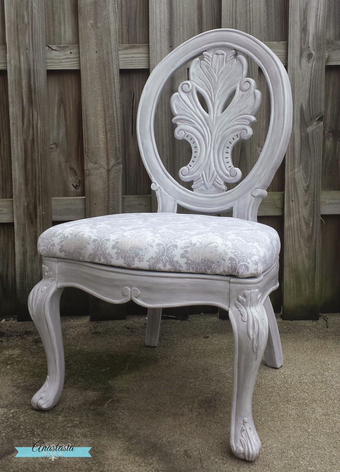 how to upholster chair vintage makeover painted