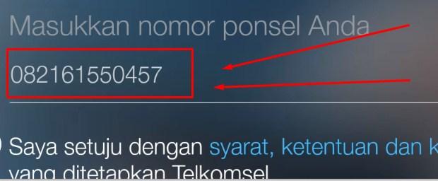 Cek No Telepon Telkomsel Lewat Aplikasi MyTelkomsel 2019 4