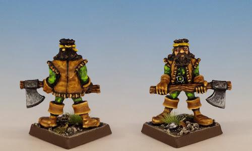 Talisman Woodsman, Citadel Miniatures (sculpted by Aly Morrison, 1986)