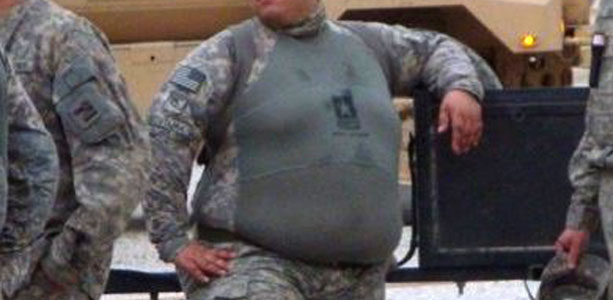 fat UK army