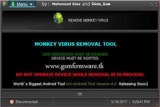 http://www.gsmfirmware.tk/2017/05/Monkey-Virus-Removal-Tool.html