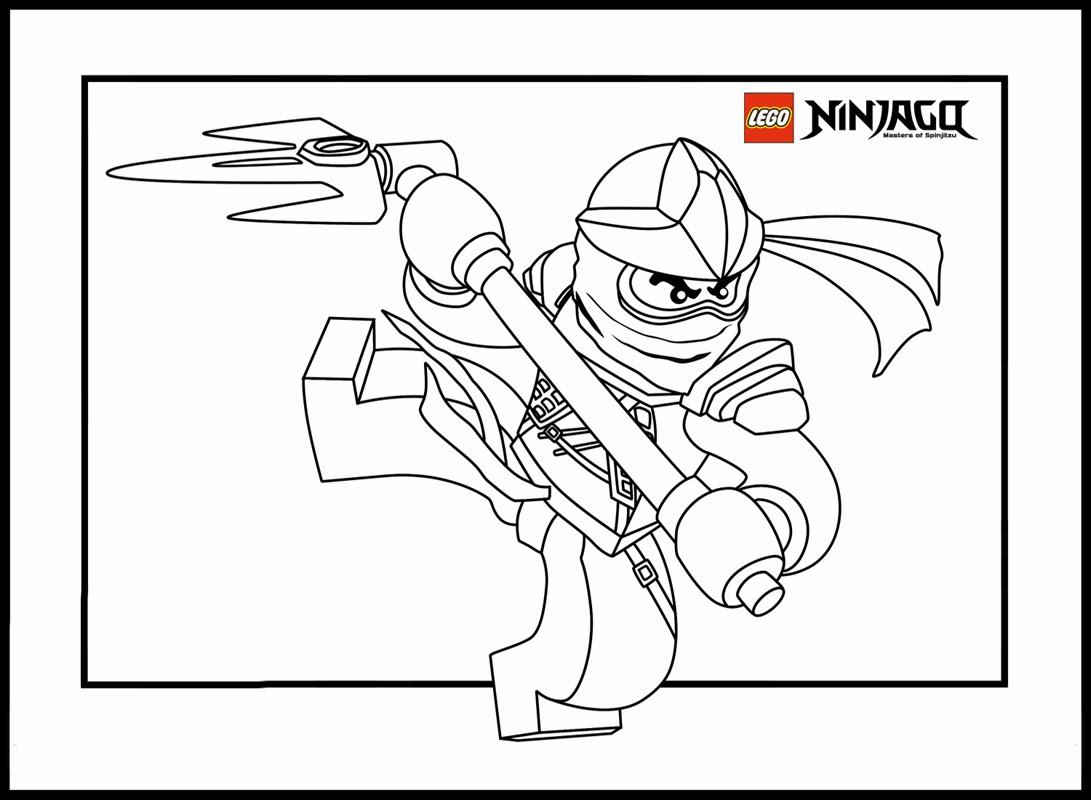 lego coloring pages ninjago nindroid - photo #34