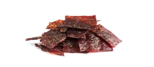 10 JUNK FOOD THAT'S ACTUALLY GOOD FOR YOU 2. Beef Jerky