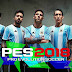 PES 2018 Argentina Start Screen 17-2018 By Supalids
