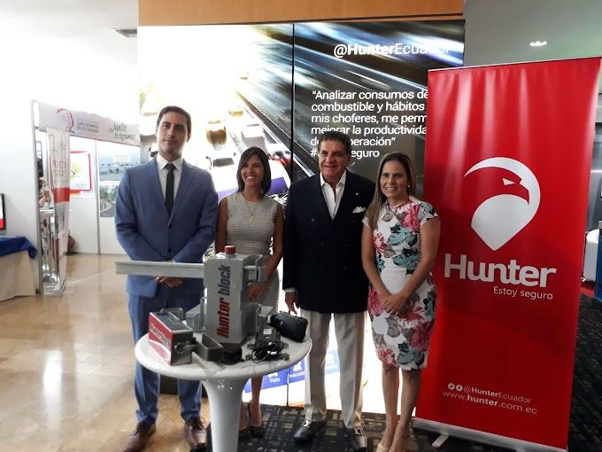 Hunter participó con su división Carga en la Feria Prologitec 4.0