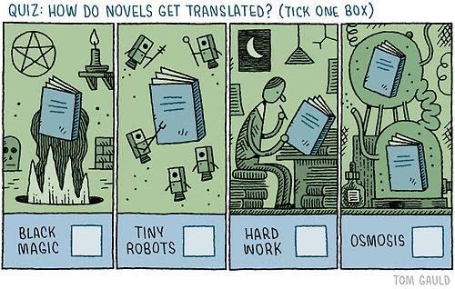 Meme de humor sobre traducciones