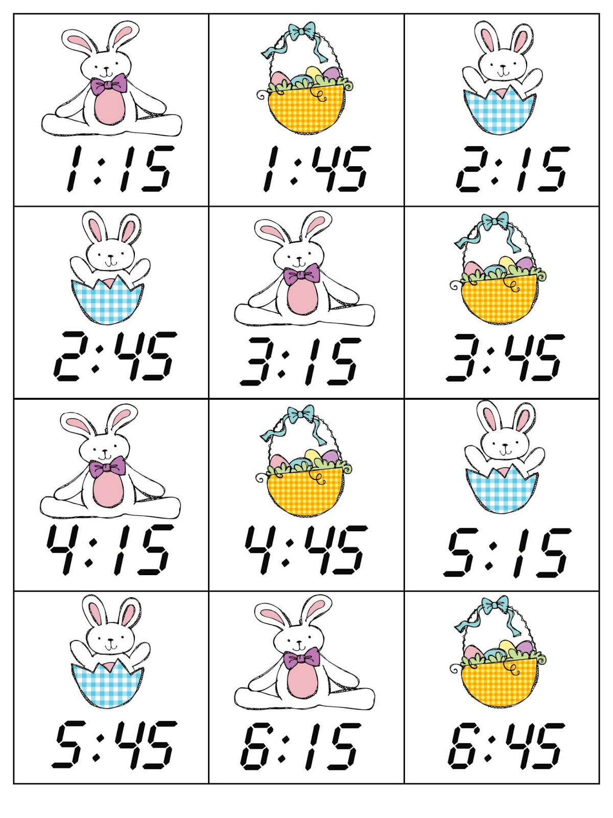 The Lower Elementary Cottage Easter Time Complete Set Is Ready Creating Clipart