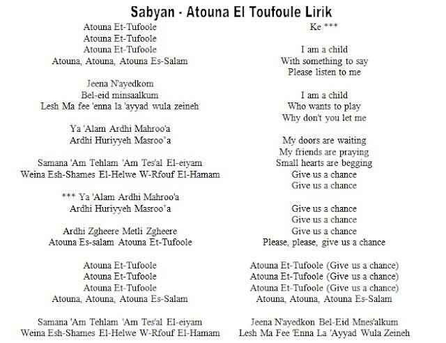 A'touna Tufoole  Versi Nisa Sabyan Gambus Modern