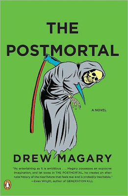 Release Day Review - The Postmortal by Drew Magary - 4 1/2 Qwills