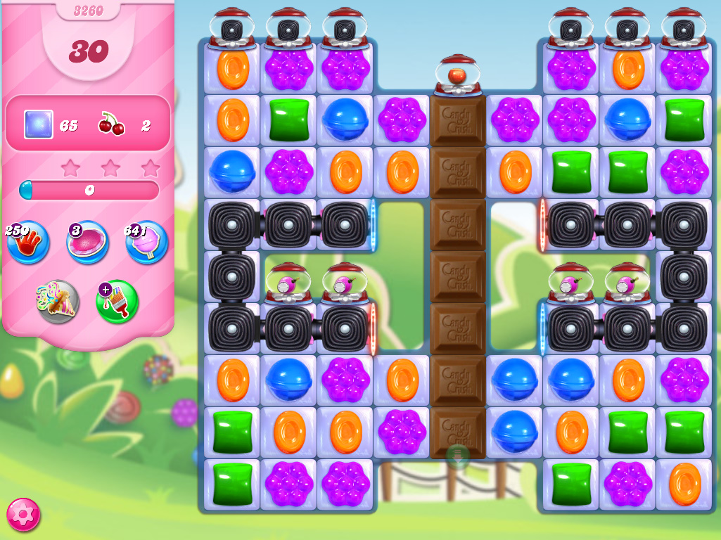 Candy Crush Saga level 3260