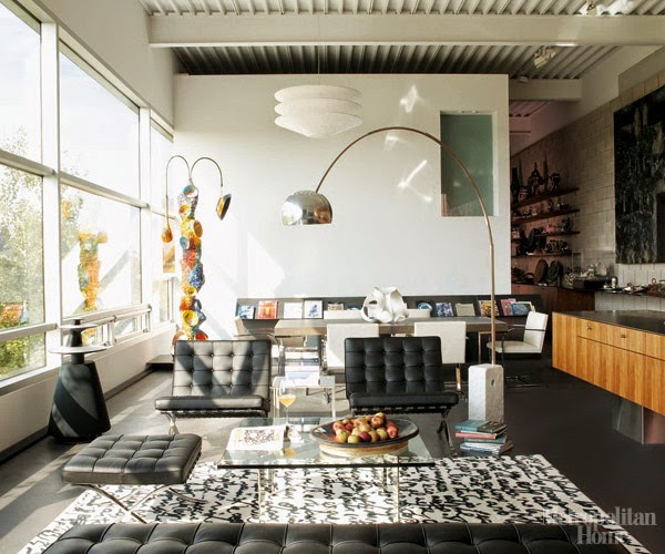 Eye For Design Decorating With The Barcelona Chair