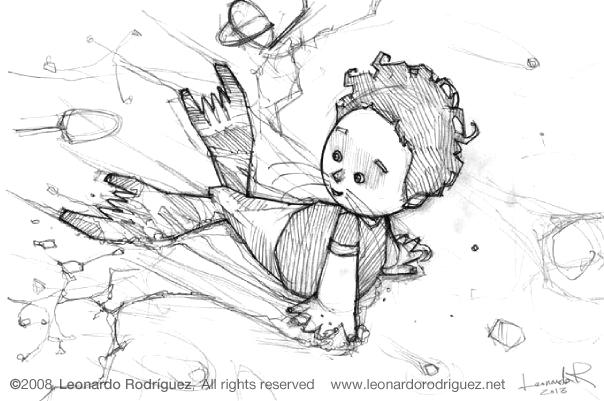 Character design Concept art - Leonardo Rodríguez
