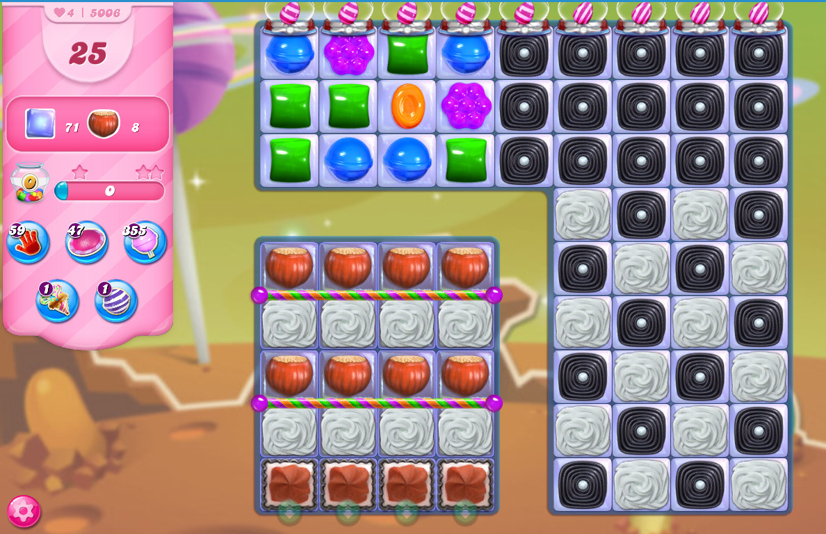 Candy Crush Saga level 5006