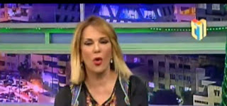 La presentadora de televisión Milagros Germán explotó en contra del PLD