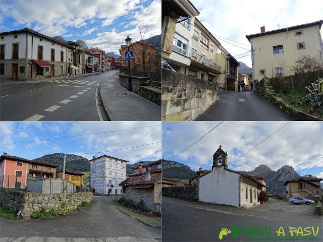 Sierra de Juan Robre: Saliendo de Arenas de Cabrales