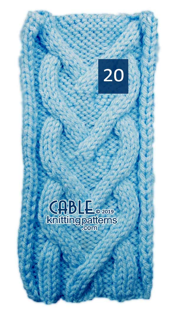 Cable Knitting Pattern 20