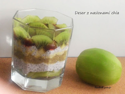 Zdrowy deser z chia
