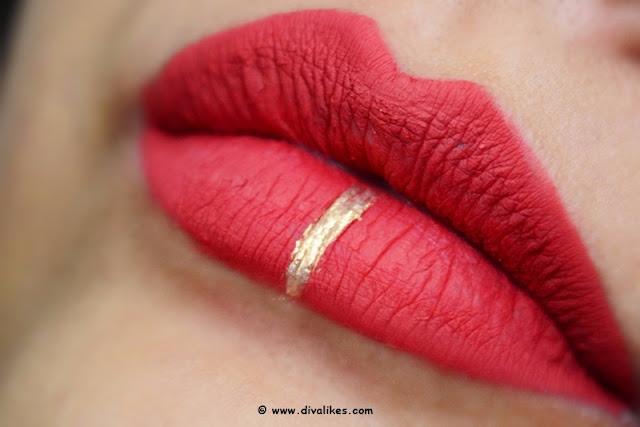 Sugar Cosmetics Smudge Me Not Liquid Lipstick 05 Rust Lust Swatch