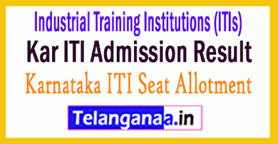 Kar ITI Admission Result