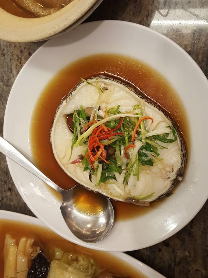อาหารแนะนำ ปลาหิมะนึ่งซีอิ้ว