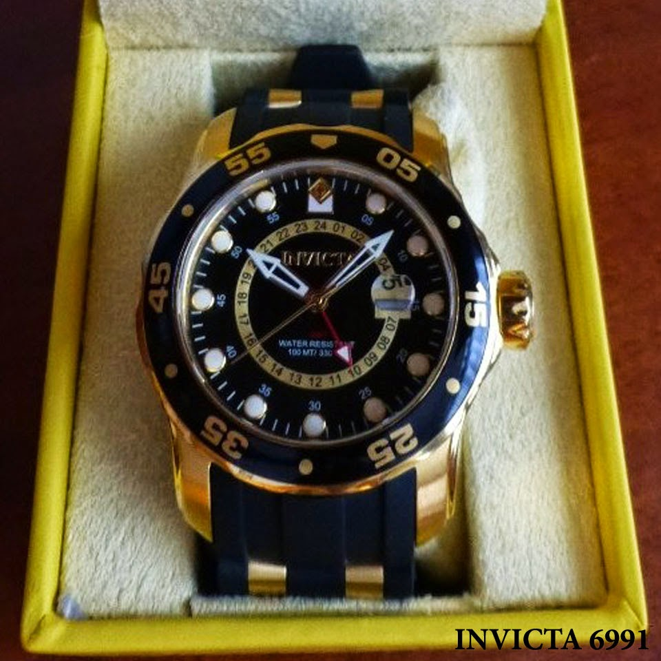 597bc792af6 Sunclock USA  Relógio Invicta 6991 Pro Diver!