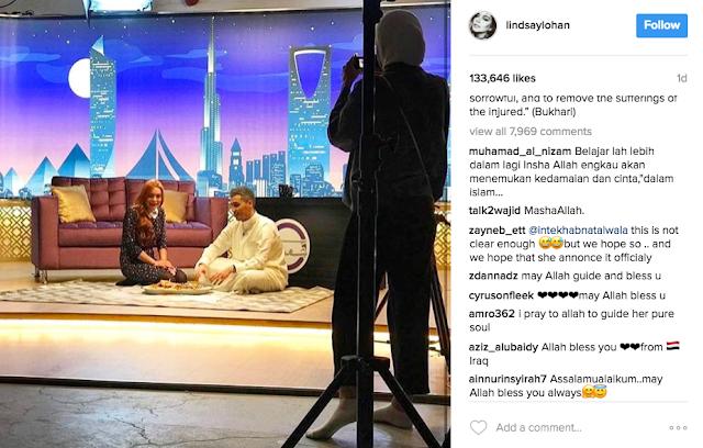 Selepas Guna 'Alaikum Salam', Lindsay Lohan Muat Naik Hadis Pula