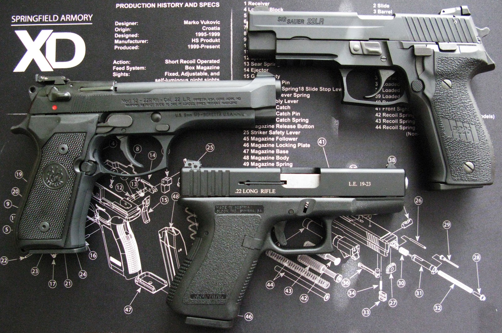 22 Conversion Kit Review for the Beretta 92FS/M9, Sig P226