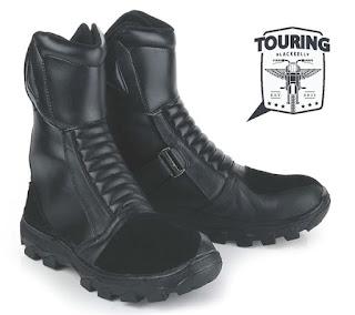Sepatu Touring Cibaduyut Kulit Asli LBU 874