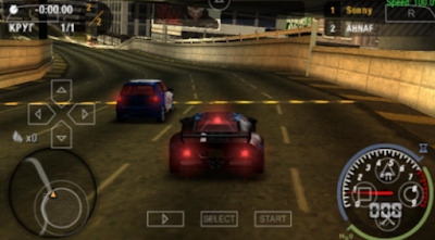 NfS Most Wanted ISO CSO PPSSPP High Compress
